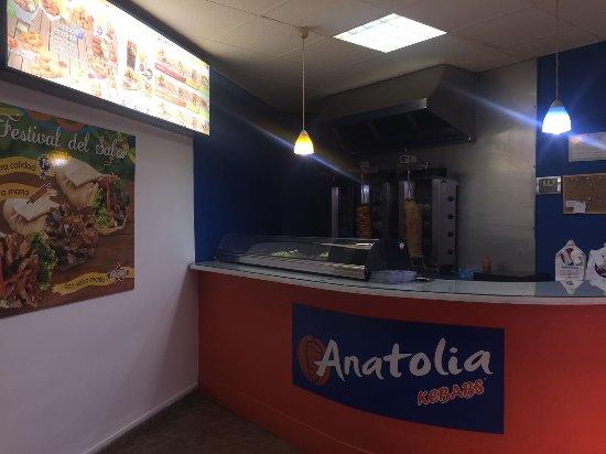 Anatolia Kebabs y Pizzas Chiva