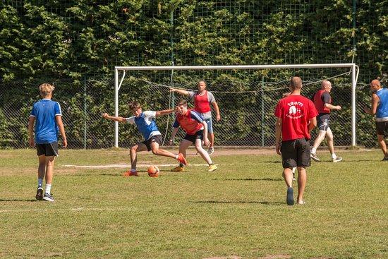 Pierrefitte sur Sauldre, ฝรั่งเศส: Terrain de Football