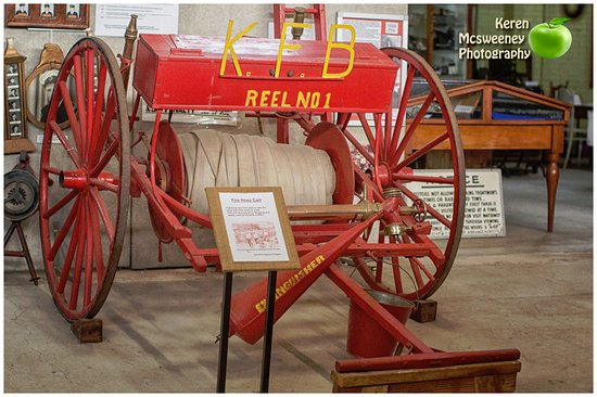 Kingaroy, Australia: Old fire reel