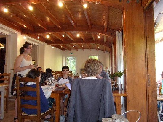 Le Rozier, France: Salle de restaurant