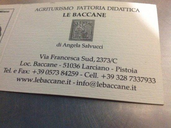 Agriturismo Le Baccane Photo