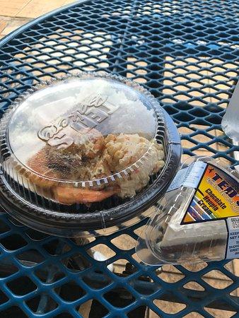 Сансет-Бич, Гавайи: ガーリックシュリンプとパイ