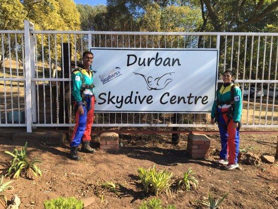 Durban Skydive Centre: The Main Board