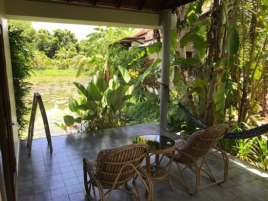 Battambang Resort: Terrace and view from the Terrace