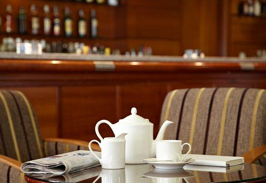 Hotel Carlos I Silgar: Detalle Cafetería
