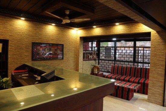 Thiruvalla, Индия: RECEPTION /FRONT DESK