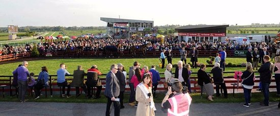 Roscommon, Irland: A view of the Parade Ring