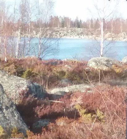 Mustasaari, Finlandia: Näkymä  itään.