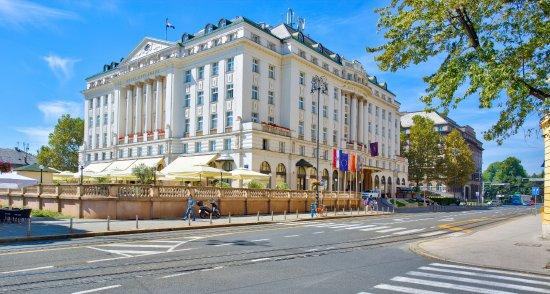 Esplanade Zagreb Hotel Street Wiew Picture Of Esplanade Zagreb Hotel Tripadvisor