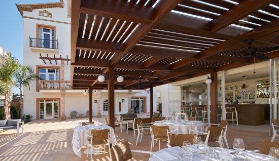 Restaurante y bar vista mar de casa vilella photo de - Hotel casa vilella ...
