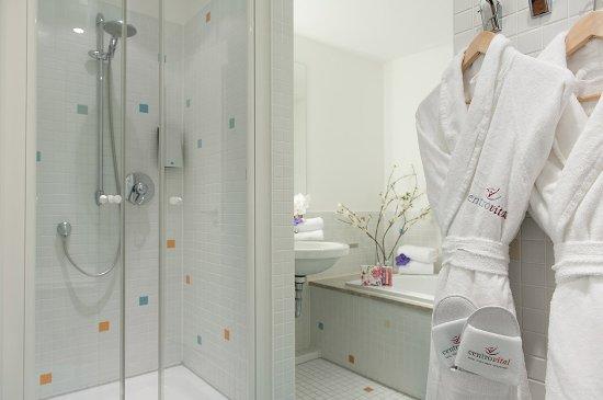 Centrovital Hotel Berlin: Juniorsuite Badezimmer