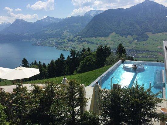 Hotel Villa Honegg: breathtaking