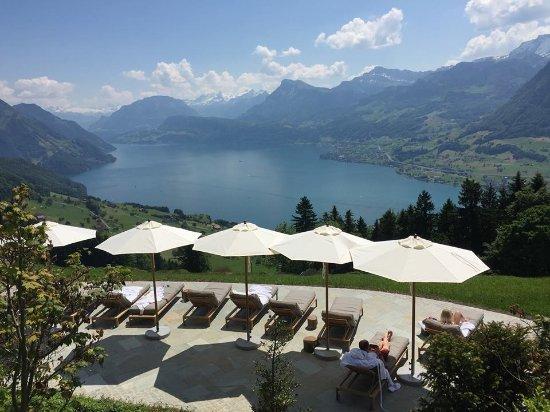 Hotel Villa Honegg: incredible view