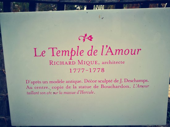 Temple de l'Amour : The Temple of Love!
