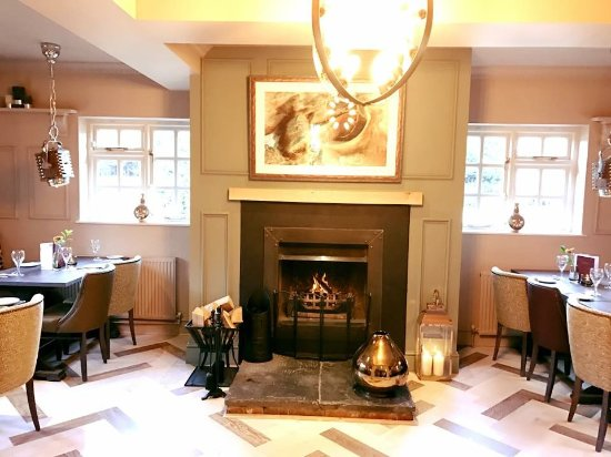 The Kings Arms Dining Area Next To Our Open Fireplace