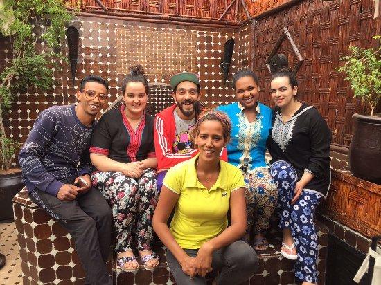 Riad Dar Najat: A photo of the fantastic staff
