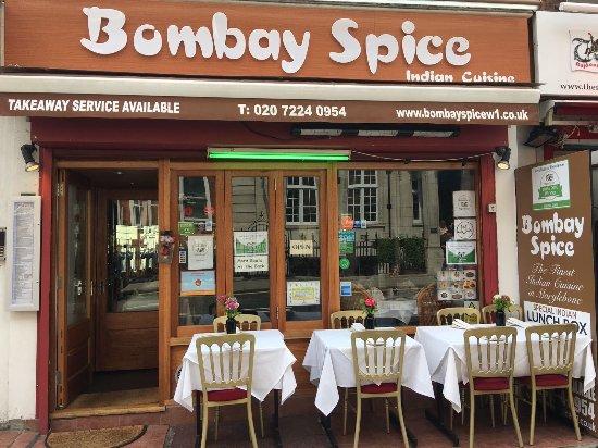 bombay spice picture of bombay spice london tripadvisor