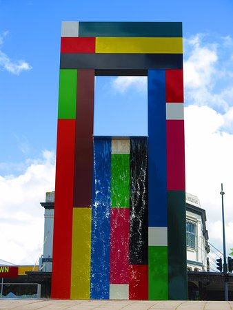 Waikato Museum: Fountain