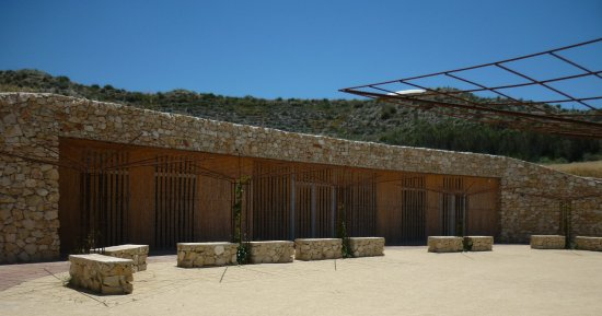 Galera, Espagne : The Visitors Centre - sadly never opened.
