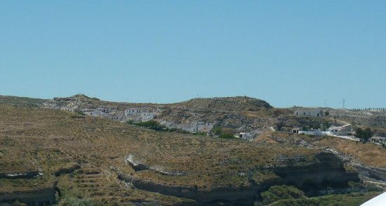 Galera, إسبانيا: View from the top of Galera Town.