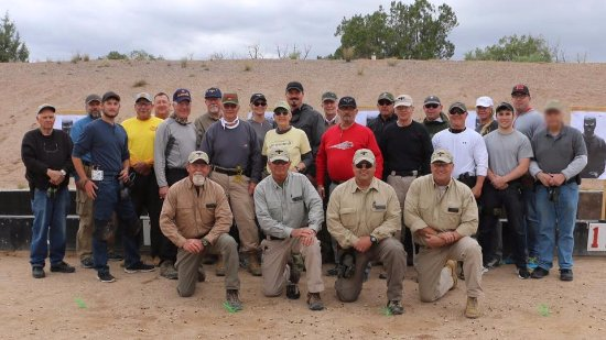 Paulden, AZ: May 2017 Gunsite 250 Class Photo