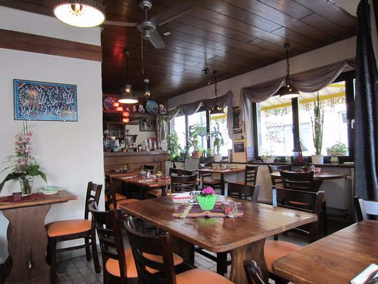 Inside the Dalyan Grill