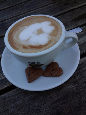 Eberswalde, Germany: Cappuccino