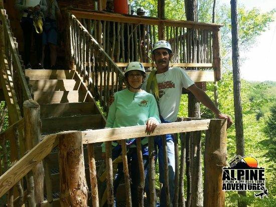 Alpine Adventures Outdoor Recreation : Tree house break!