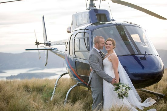 Garden City Helicopters: Getting Hitched in style