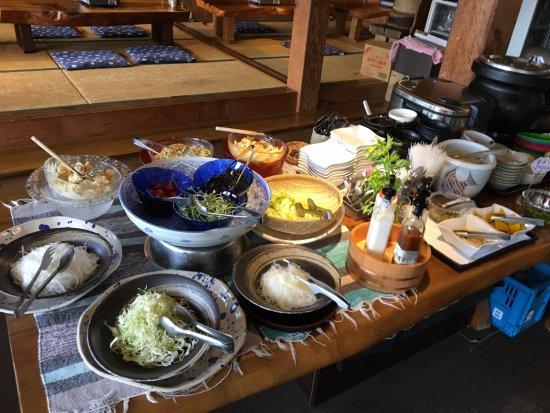 Suooshima-cho, Japão: Salad Bar
