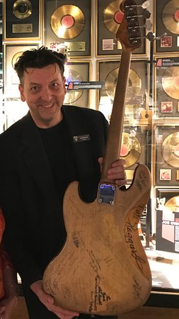 Musicians Hall of Fame and Museum: Jay McDowell proudly showing his toys and telling great stories