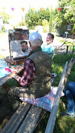 Saint-Laurent-de-la-Cabrerisse, Fransa: Ateliers initiation-découverte à la Peinture à l'Huile avec Robert Prouty