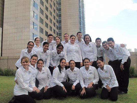 Grand Hyatt Sao Paulo: Foto em frente ao Hotel