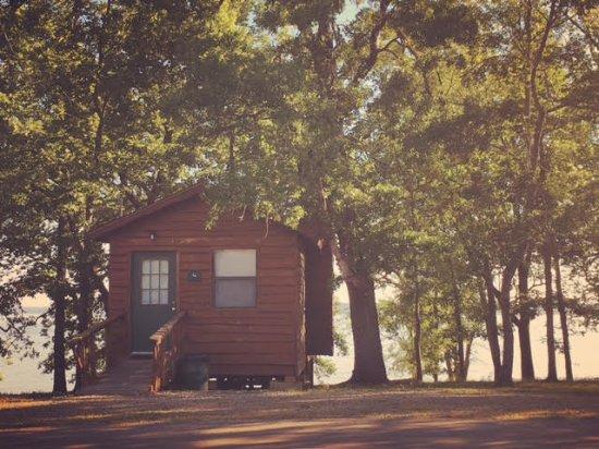 Primitive Cabin Picture Of Hugo Lake State Park Resort