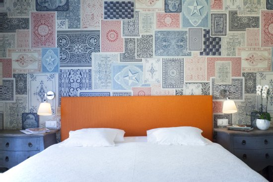 Art Hotel Riposo: Camera da letto 