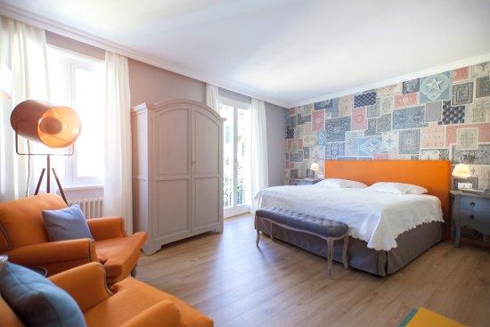 Camera da letto - Bild von Art Hotel Riposo, Ascona - TripAdvisor