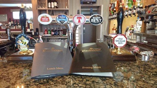 Greenlaw, UK: Fully Serviced Bar including Coffee Machine