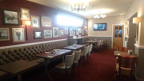 Greenlaw, UK: Dinning Area