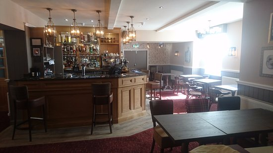 Greenlaw, UK: Bar Area