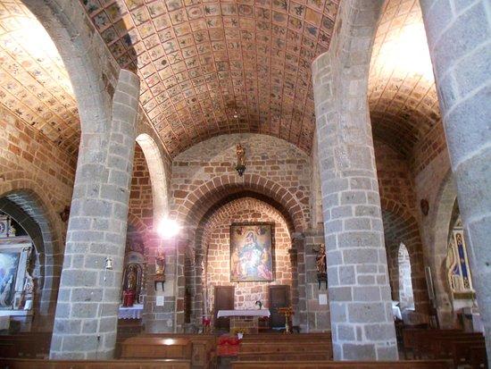 Eglise Saint-Leger de Cheylade