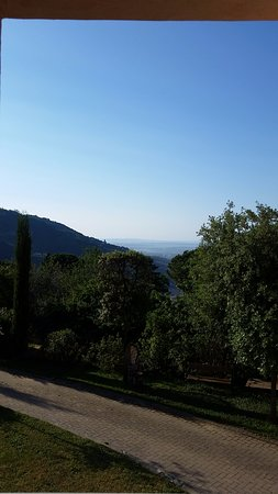 Monte a Pescia, Italie : View from room