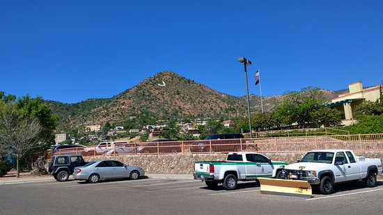 Jerome, AZ: View from Parking lot