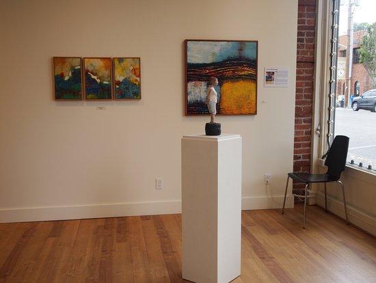 Northwind Arts Center: More encaustic work.
