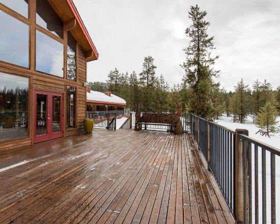 McCall, ID: Main Lodge Deck