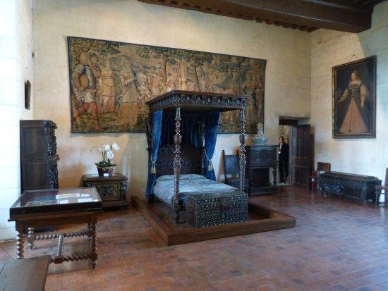 Centre-Val de Loire, Fransa: Château de Chaumont sur Loire - la chambre dite de Catherine de Médicis