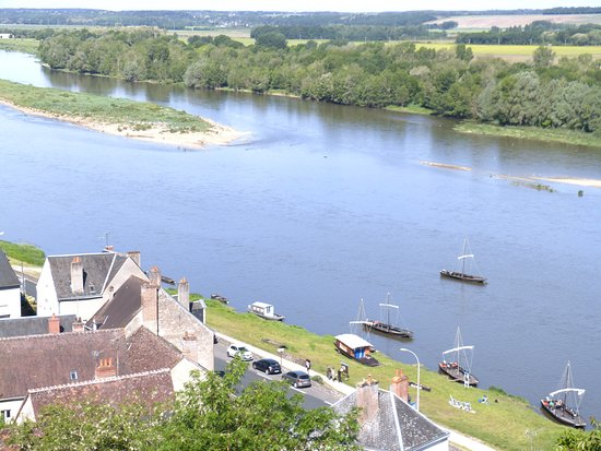 Centre-Val de Loire, Fransa: La Loire vue du château de Chaumont sur Loire