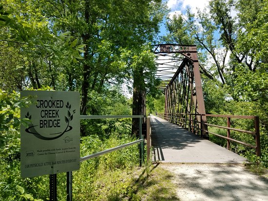 Washington, IA: Crooked Creek Bridge