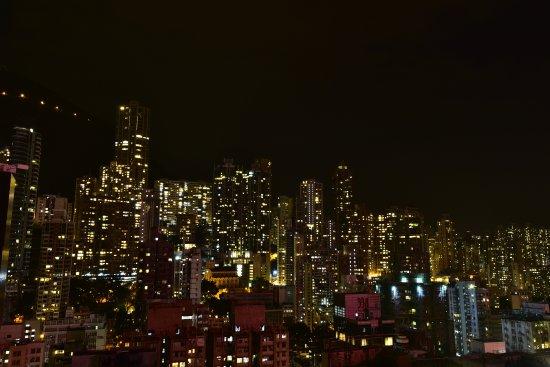 頂樓拍攝的夜景