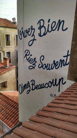 Hotel des Poetes : Pris depuis la fenêtre de ma chambre
