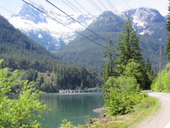 North Cascades National Park, WA: Road to Education Center-Dam